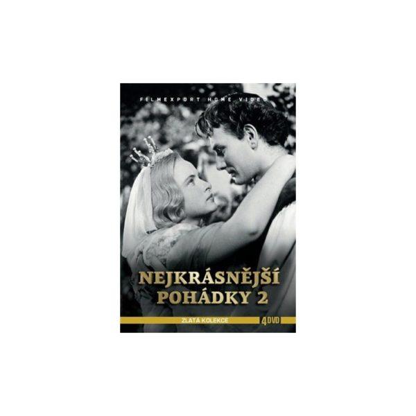Nejkrásnější pohádky 2 (4 DVD)