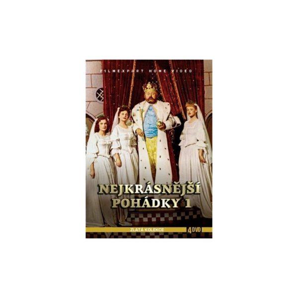 Nejlepší pohádky (4 DVD)