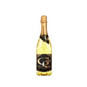Luxusní šumivé víno s 23 karátovým zlatem 0